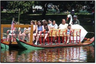 "Offer ""Swan Boat"" tours"