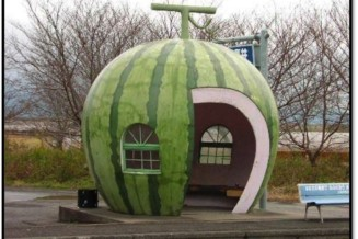 Build a food themed bus stop in Victoria's food eco district