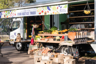"""A mobile """"food justice"""" truck in Melbourne"""