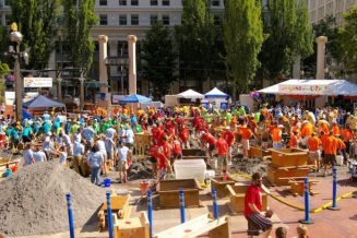 """""""Sand in the City"""" Event"""