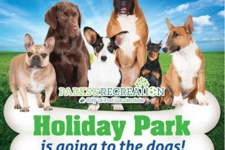 Community funded dog park in Fort Lauderdale