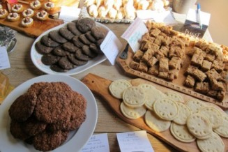 Do a monthly baking exchange in Alpine.