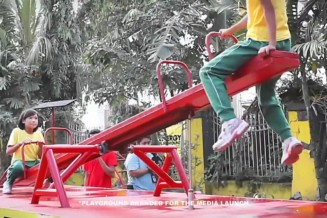 An energy playground in the Philippines