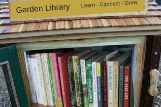 Create a gardening library at the Cheakamus Community Garden