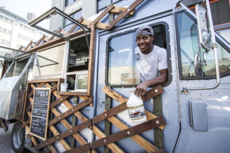 A food truck dishing up great eats with a side of social inclusion