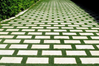 Install permeable pavers instead of traditional paved surfaces