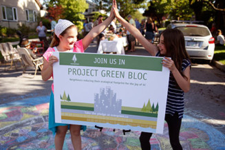 Expand eco/healthy-bloc approach across BC communities.