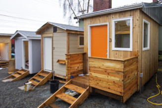 Teenagers that built tiny homes for the homeless in Seattle