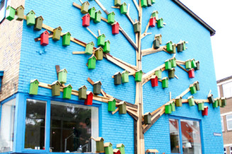 The Happy City Birds installations in Denmark