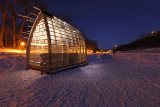 The Winnipeg warming hut competition