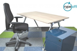 An office furniture company that remakes old furniture