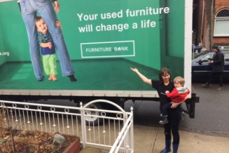 Furniture Bank, which finds homes for old furniture while helping disadvantaged people