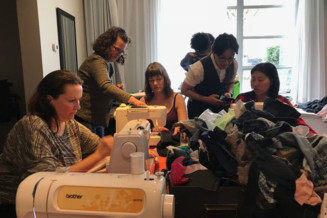 Help reduce textile waste through free community fix-it events