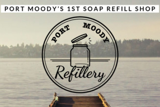 Open Port Moody's 1st soap refill shop.