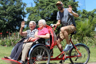 Purchase a trishaw to allow Cycling Without Age to provide free rides for mobility challenged people