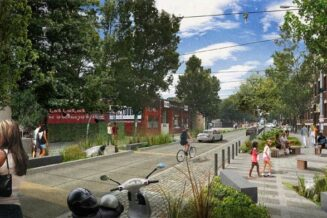 Many towns in Australia that have converted their Main Streets to function more like plazas