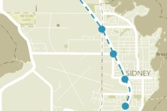 Have the town lobby MOTI / BC transit to have LRT line linking Swartz bay to Victoria