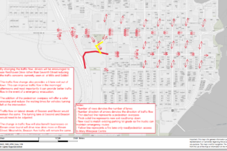 Flow of Traffic Change for Beacon and Bevan Avenue