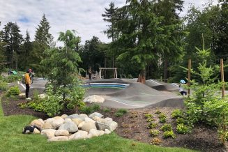 Add a pump track and kids play area. Look to Moodyville Park in North Van for inspiration