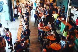Have a brewery on Burnaby Mountain w/ patio space and food trucks