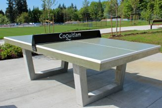 Add outdoor foosball and table tennis activites in courtyard locations
