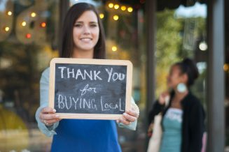 Support small and local businesses (We Are a Vibrant SFU Burnaby Community)