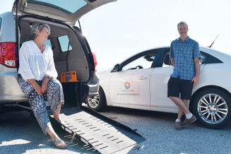 Help support accessible transportation on the Sunshine Coast
